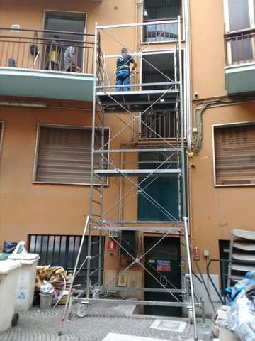 GAS PLUMBER SCAFFOLD MILANO